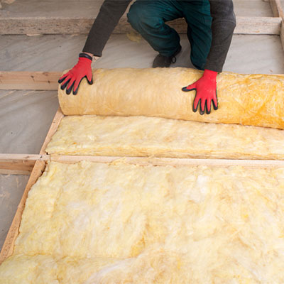 yellow house insulation