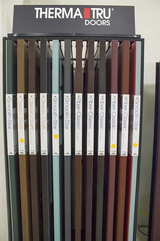 ThermaTru door samples