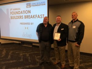Builders FirstSource Awarded Company of the Year by Home Builders Foundation