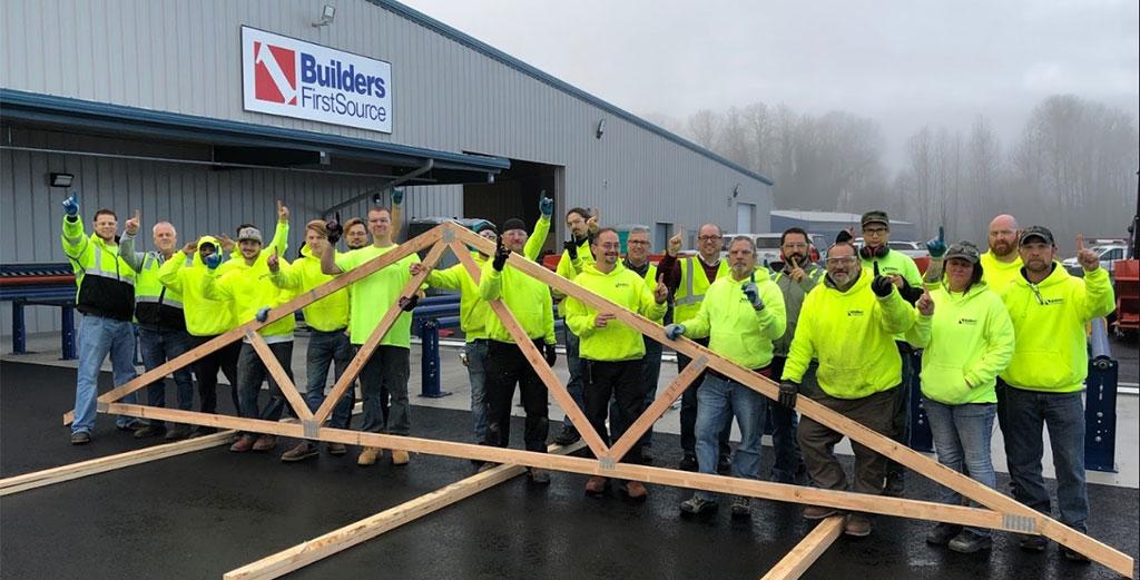 Builders Firstsource Announces Woodland Truss Plant Open